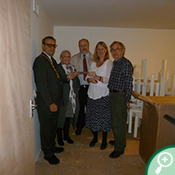 Othery Village Hall received a grant of £8,500