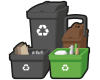 Waste collection alert Icon